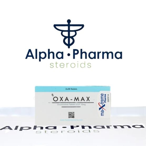 Buy Oxa-Max 10mg- alpha-pharma.biz