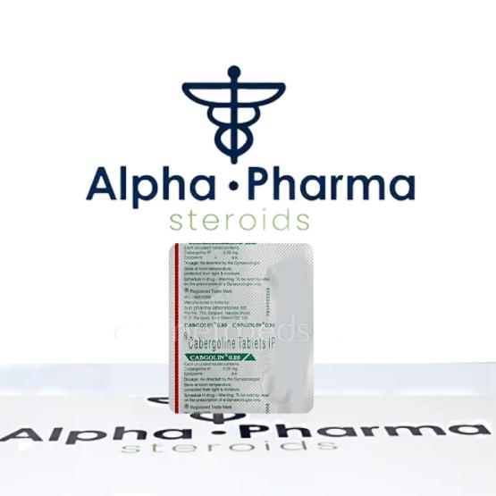 Buy Cabgolin - alpha-pharma.biz