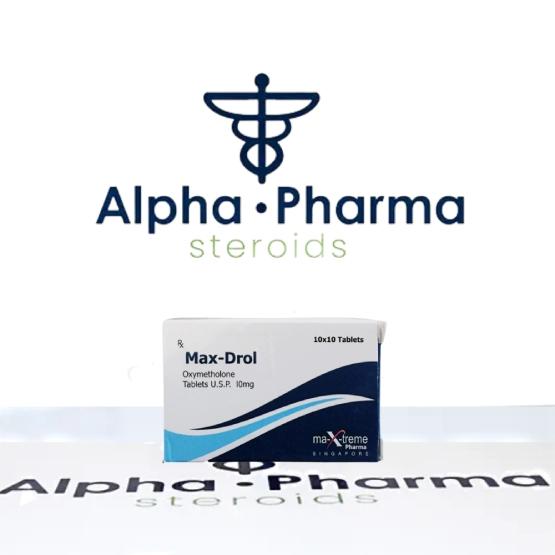 Buy Max-Drol - alpha-pharma.biz