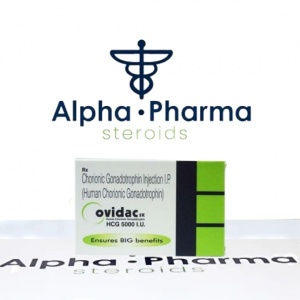 Buy Ovidac 5000 IU- alpha-pharma.biz
