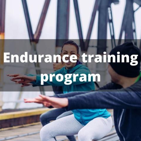 Endurance training program