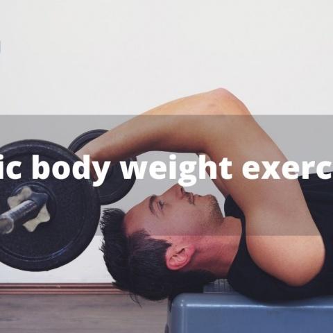 Basic body weight exercises
