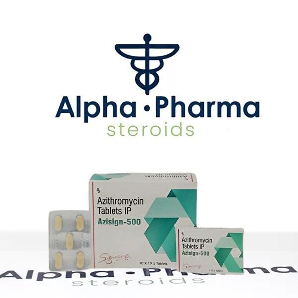 Azisign-500 on alpha-pharma.biz