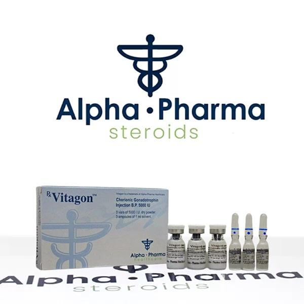 Vitagon (Alpha Pharma) on alpha-pharma.biz